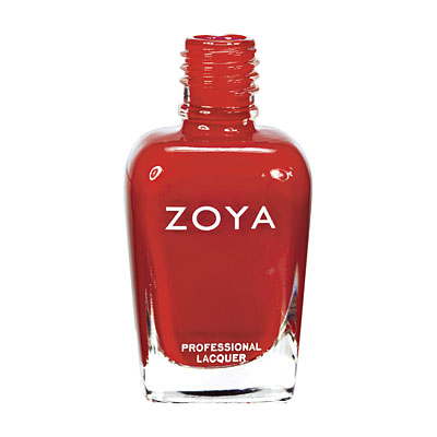 Zoya Nail Polish - Tamsen - ZP553 - Red, Orange, Cream, Warm