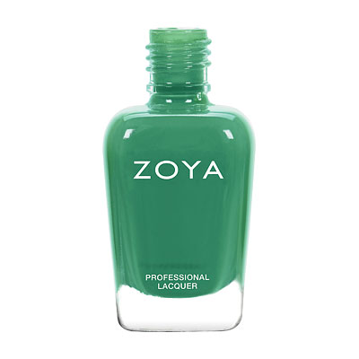 Zoya Nail Polish - Ness - ZP852 - Green, Cream, Cool