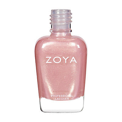 Zoya Nail Polish - Shimmer - ZP296 - French, Nude, Metallic, Cool