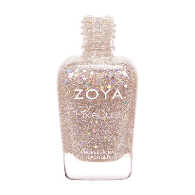 Zoya Nail Polish - Lux - Magical PixieDust - Textured - ZP719 - Pink, Rose, Cool