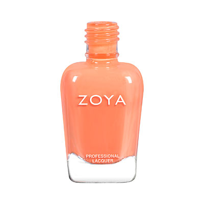 Zoya Nail Polish - Sawyer - ZP897 - Orange, Cream, Warm