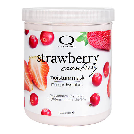 Strawberry Cranberry Moisture Mask 38oz by Smart Spa