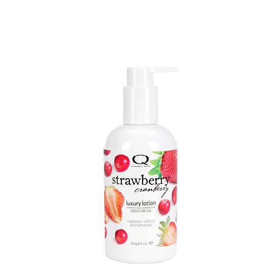 Strawberry Cranberry Luxury Lotion 8.5oz by Smart Spa