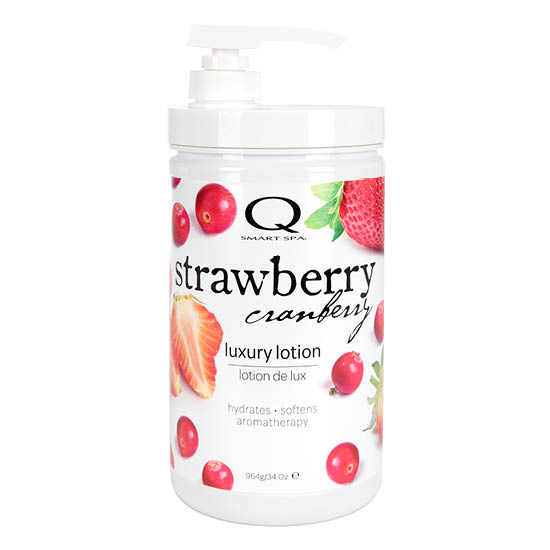 Strawberry Cranberry Luxury Lotion 34oz by Smart Spa
