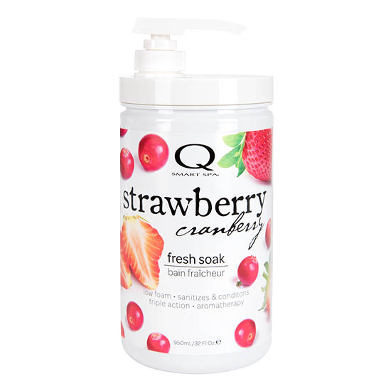 Strawberry Cranberry Triple Action Fresh Soak 32oz by Smart Spa
