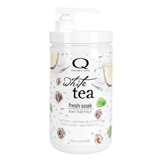 White Tea Anti-Bacterial Soak 32oz by Smart Spa