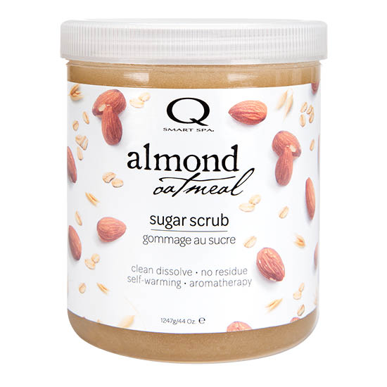 Almond Oatmeal Sugar Scrub 44oz by Smart Spa (main image)