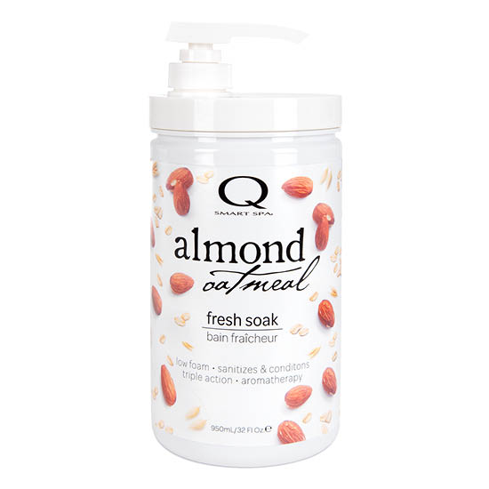 Almond Oatmeal Anti-Bacterial Soak 32oz by Smart Spa