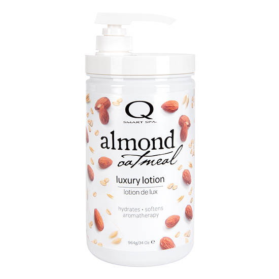 Almond Oatmeal  Massage Lotion 34oz by Smart Spa