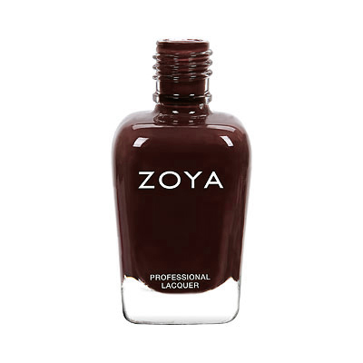 Zoya Nail Polish - Elaine - ZP912 - Brown, Cream, Warm