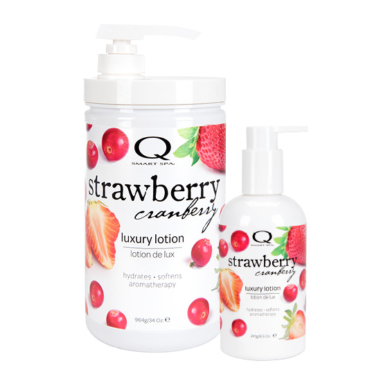 Lotion--Strawberry-Cranberry