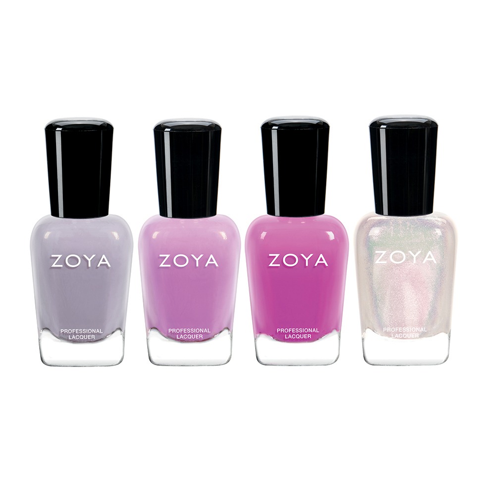 Shop kisses nail polishes lipsticks retail displays and gift sets zoya kisses quad reheart Gallery