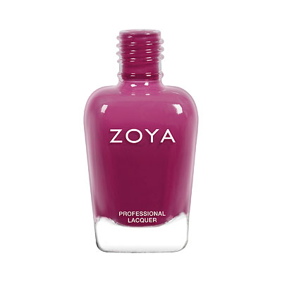 Zoya Nail Polish - Alia - ZP939 - Purple, Jelly, Cool