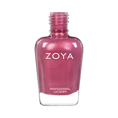 Zoya Nail Polish - Maryann - ZP956 - rose, pink, Pearl, Warm