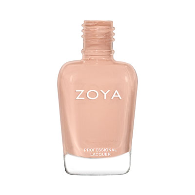 Zoya Nail Polish - Leigh - ZP977 - nude, neutral, cream, Cream, Warm