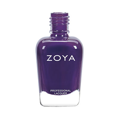 Zoya Nail Polish - Chiara - ZP972 - purple, Cream, Cool