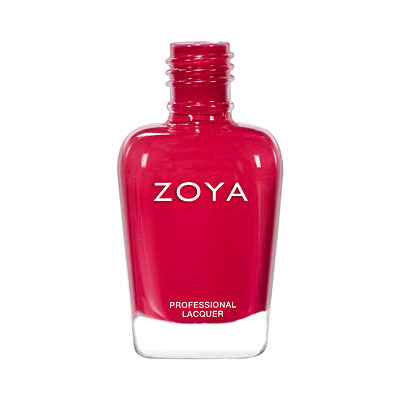 Zoya Nail Polish - Maxine - ZP969 - red, Cream, Warm