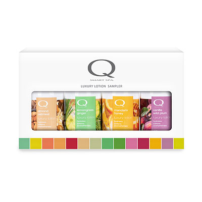 Smart Spa Luxury Lotion Holiday Sampler , QTLOTIONSAMPLER2018QUAD