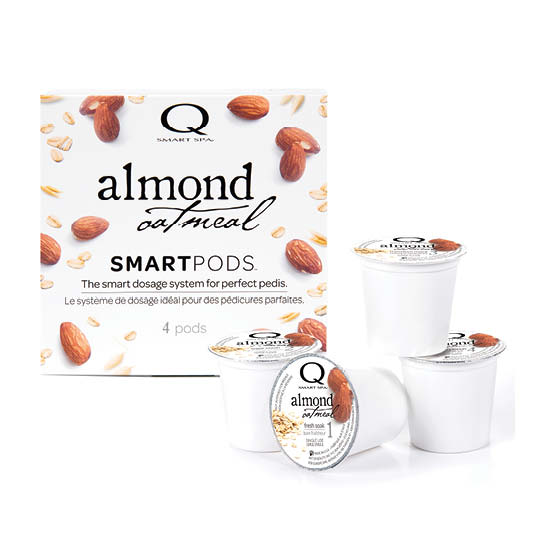 Smart Spa Smart Pod 4 Step System Pack - Box and Pods in Almond Oatmeal