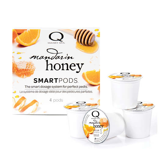 Smart Spa Smart Pod 4 Step System Pack - Box and Pods in Mandarin Honey