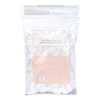 Zoya Small Cotton Ball Bag - 100 Count