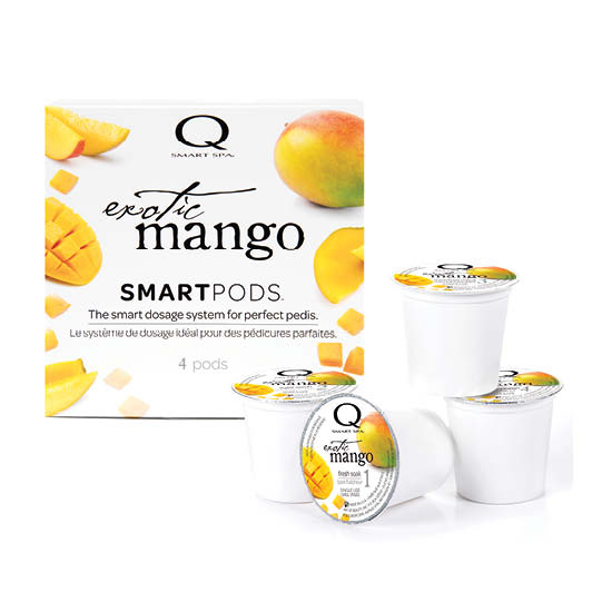 Smart Spa Smart Pod 4 Step System Pack - Box and Pods in Exotic Mango (main image)