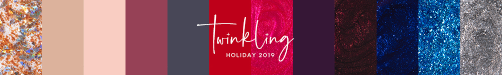 zoya twinkling holiday collection 2019 banner