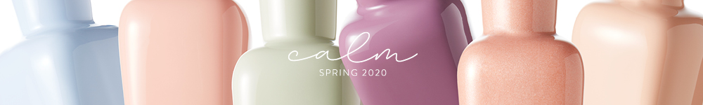 zoya calm spring 2020 collection banner