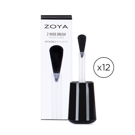 Z Wide Brush 12 Pack Bundle