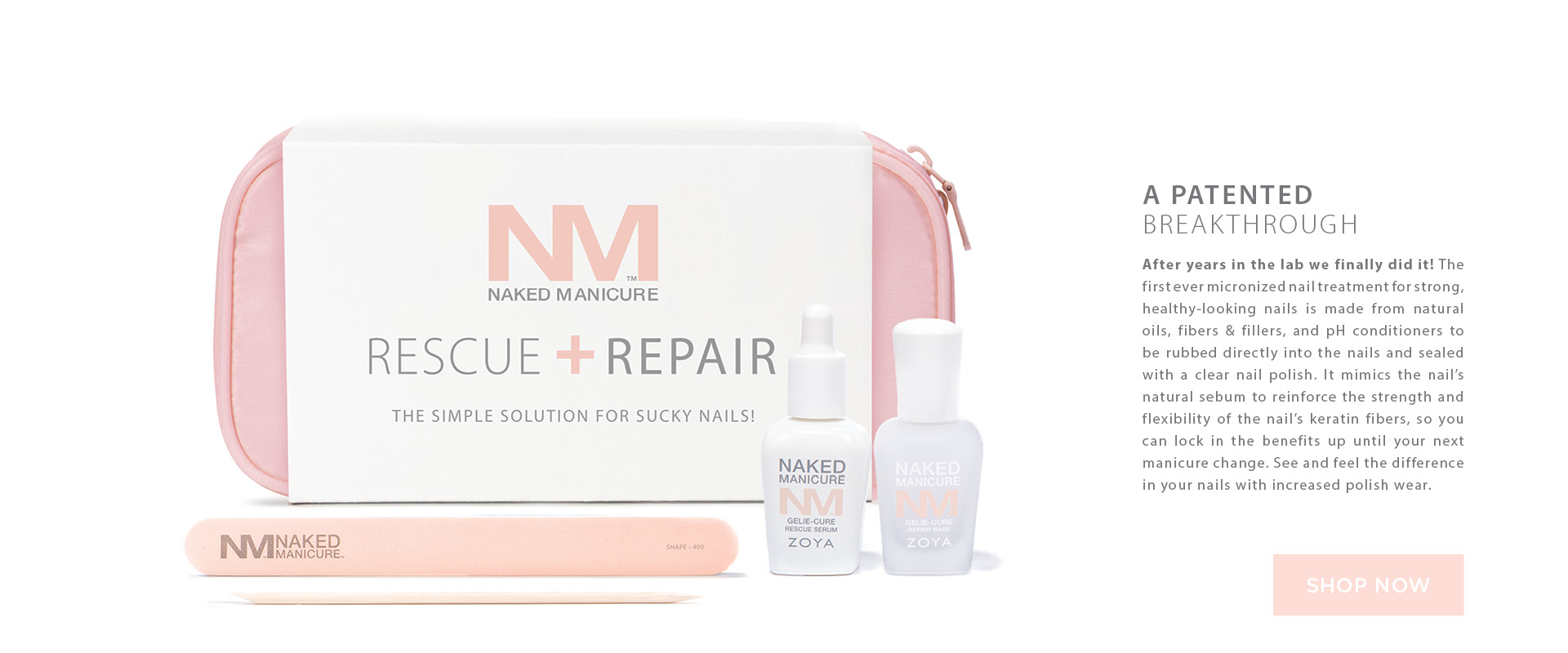 ZOYA Naked Manicure Rescue Repair Kit