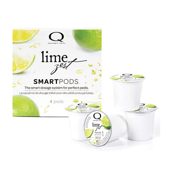 Smart Spa Smart Pod 4 Step System Pack - Box and Pods in Lime Zest