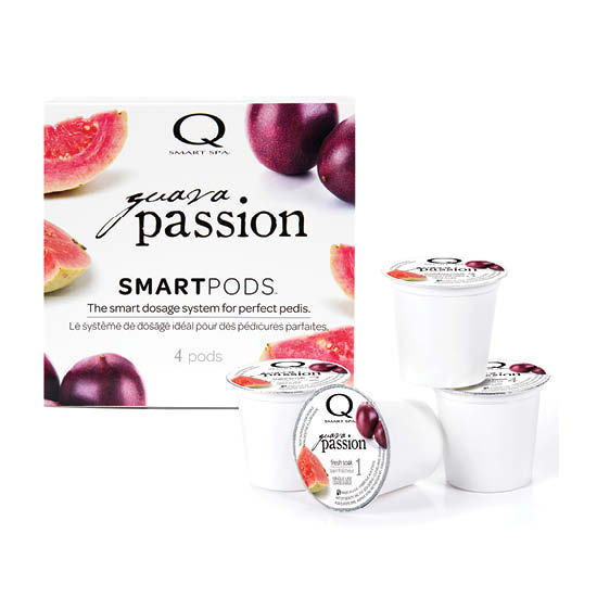 Smart Spa Smart Pod 4 Step System Pack - Box and Pods in Guava Passion