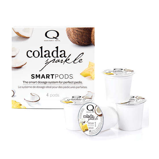 Smart Spa Smart Pod 4 Step System Pack - Box and Pods in Colada Sparkle