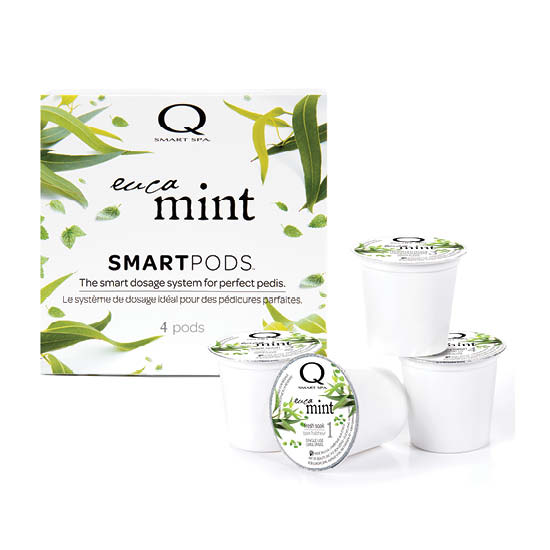 Smart Spa Smart Pod 4 Step System Pack - Box and Pods in Eucamint