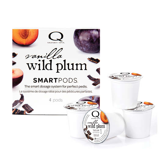 Smart Spa Smart Pod 4 Step System Pack - Box and Pods in Vanilla Wild Plum (main image)