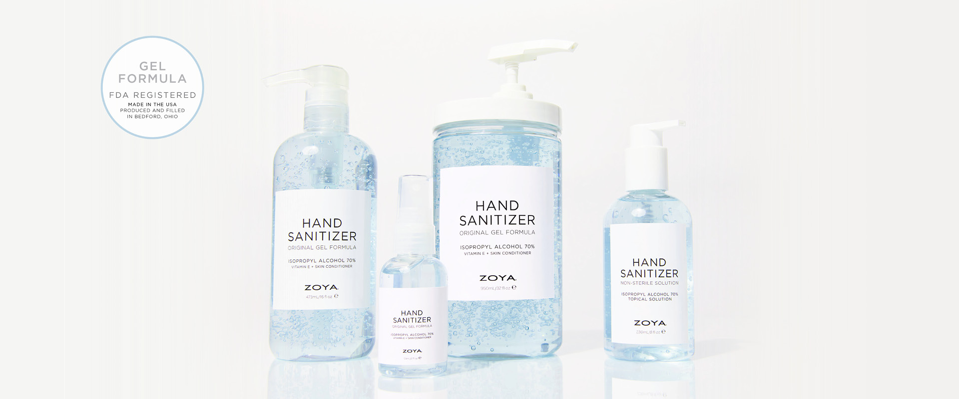Shop Zoya Hand Sanitizer Gel Formula