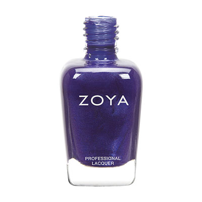 Zoya Nail Polish - Neve - ZP679 - Blue, Metallic, Cool