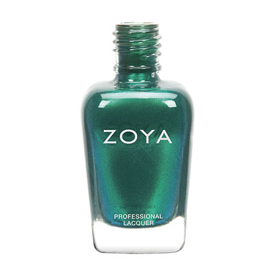 Zoya Nail Polish - Giovanna - ZP680 - Green, Metallic, Cool