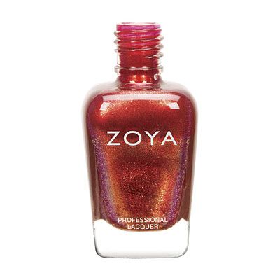 Zoya Nail Polish - Channing - ZP691 - Red, Metallic, Warm