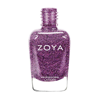 Zoya Nail Polish - Aurora - ZP646 - Purple, Holographic, Cool