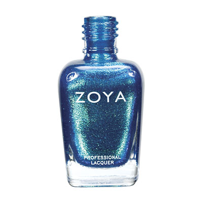 Zoya Nail Polish - Charla - ZP508 - Blue, Metallic, Cool