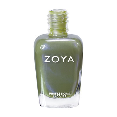 Zoya Nail Polish - Gemma - ZP544 - Green, Metallic, Cool