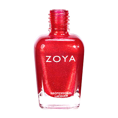 Zoya Nail Polish ZP547  Kimmy  Red Nail Polish Metallic Nail Polish