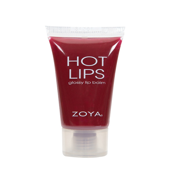 Zoya Hot Lips Lip Gloss in Marachino