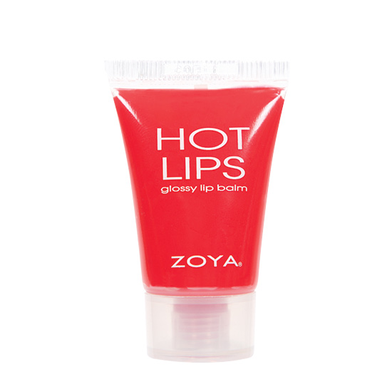 Zoya Hot Lips Lip Gloss in Heatwave