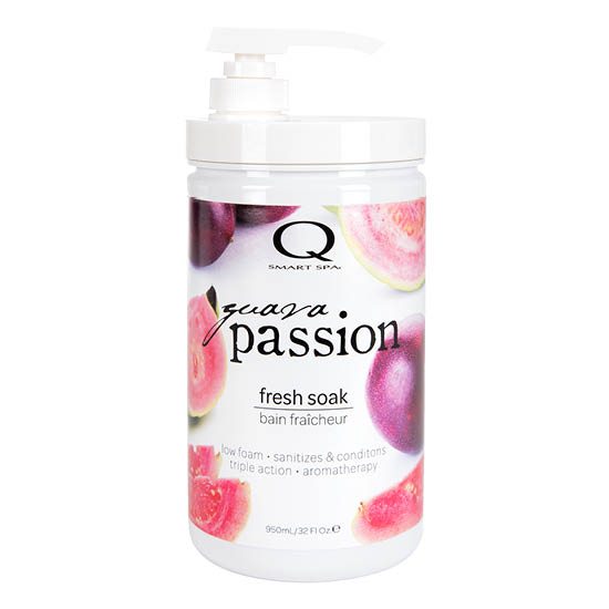 Guava Passion Triple Action Fresh Soak 32oz by Smart Spa