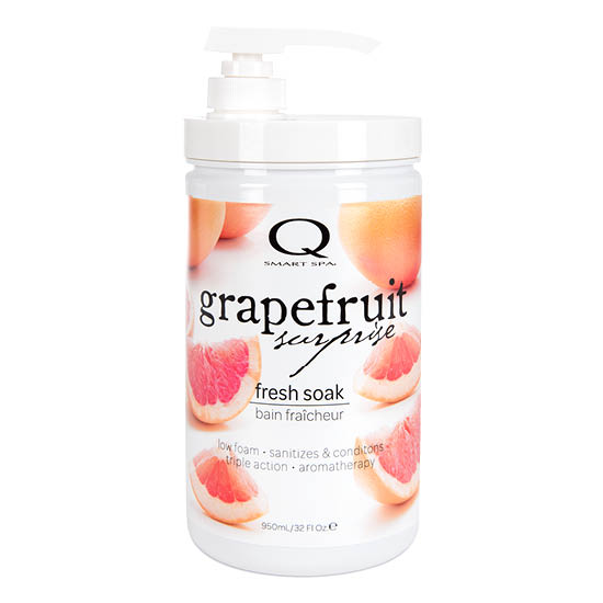 Grapefruit Surprise Triple Action Fresh Soak 32oz by Smart Spa