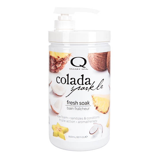 Colada Sparkle Triple Action Fresh Soak 32oz by Smart Spa