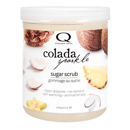 Colada Sparkle Sugar Scrub 44oz by Smart Spa