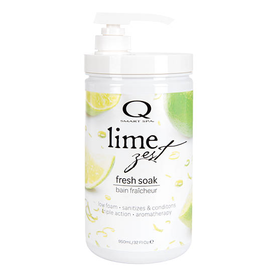 Lime Zest Triple Action Fresh Soak 32oz by Smart Spa